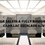 For Sale is a Fully Armored Cadillac Escalade SUV
